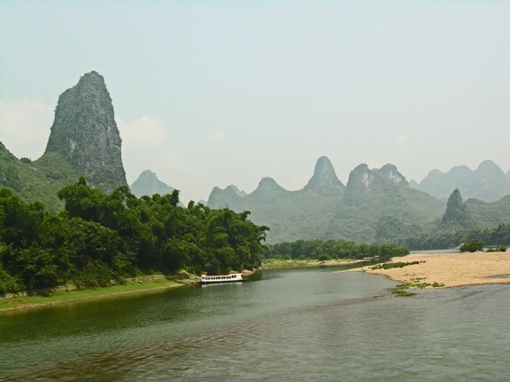 Karstlandschaft am Li Fluss / Guilin - Yangshou