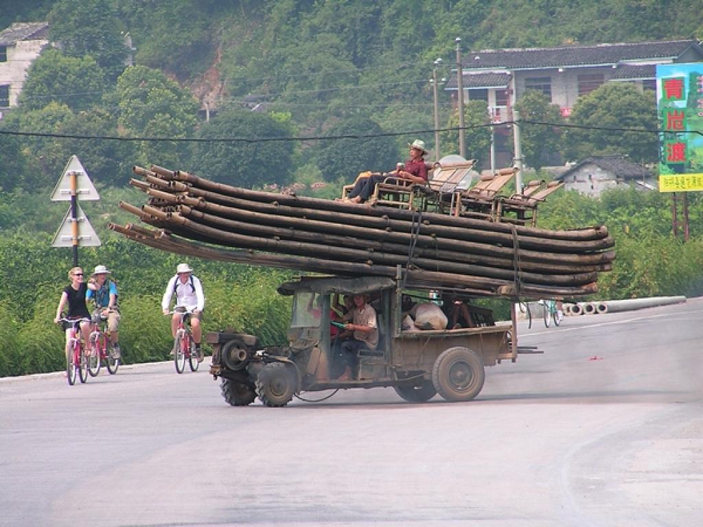 Transport auf chinesisch