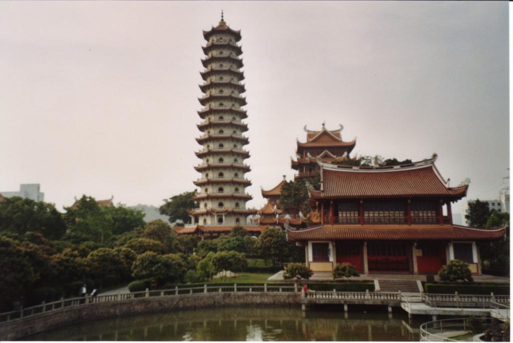 Fuzhou - Tempelanlage